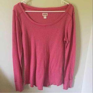 Mossimo Thermal Long Sleeve Shirt